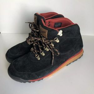 Danner Hiking Boots black red leather waterproof